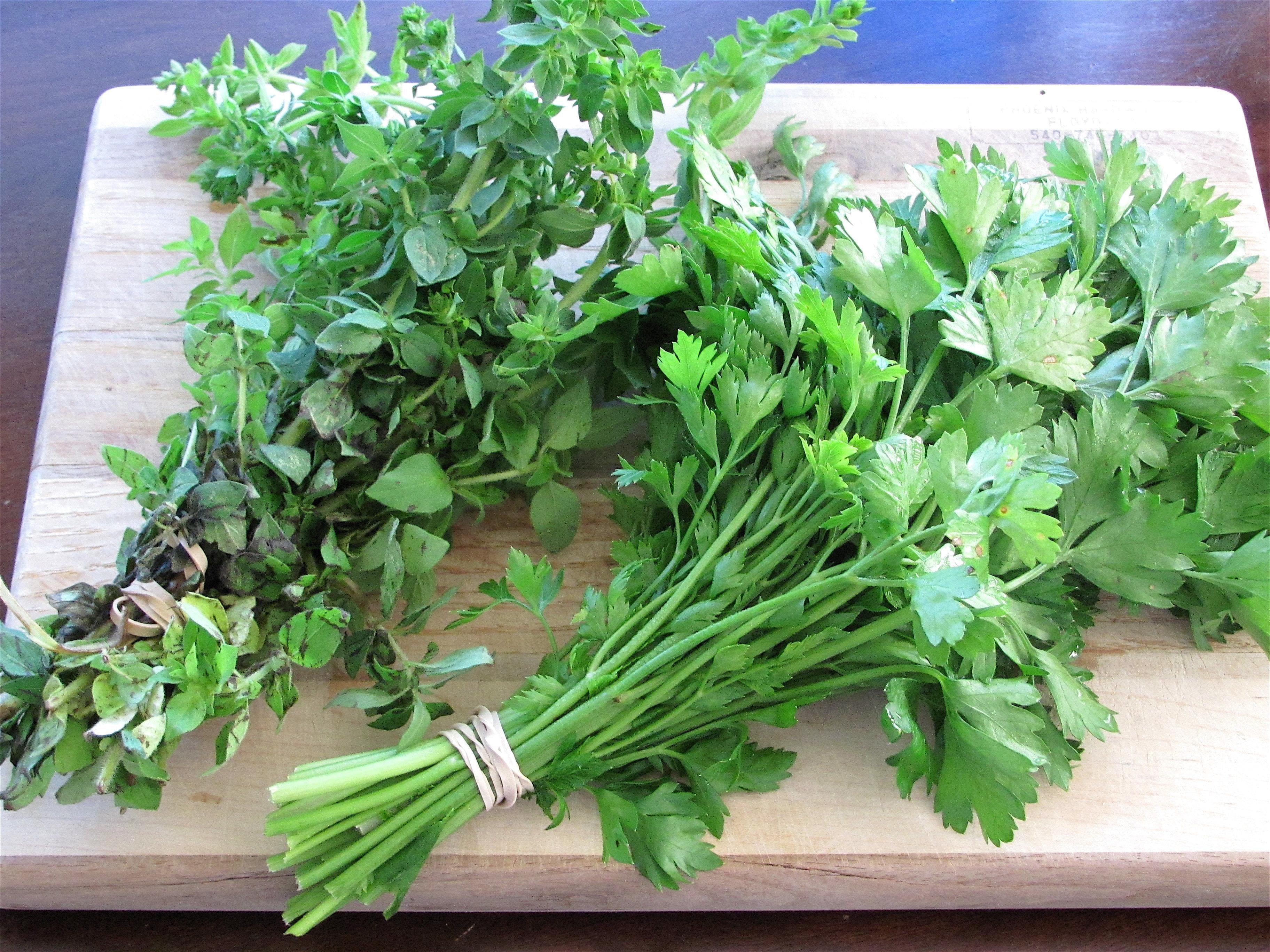 Fresh Herbs at La Tour